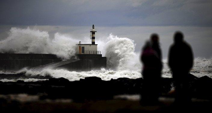 L'Europe secouée par des tempêtes