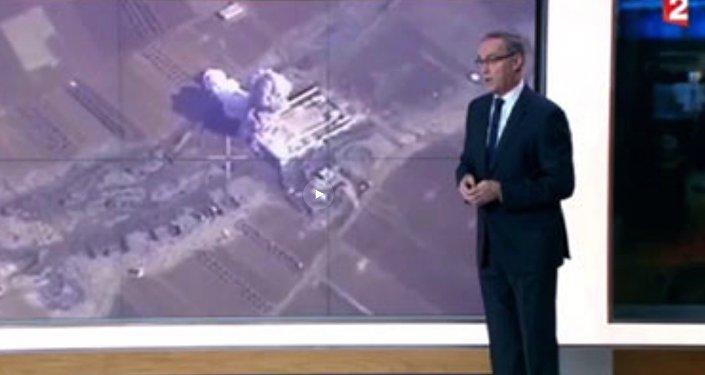 France 2 attribue à son pays les succès de l'aviation russe en Syrie