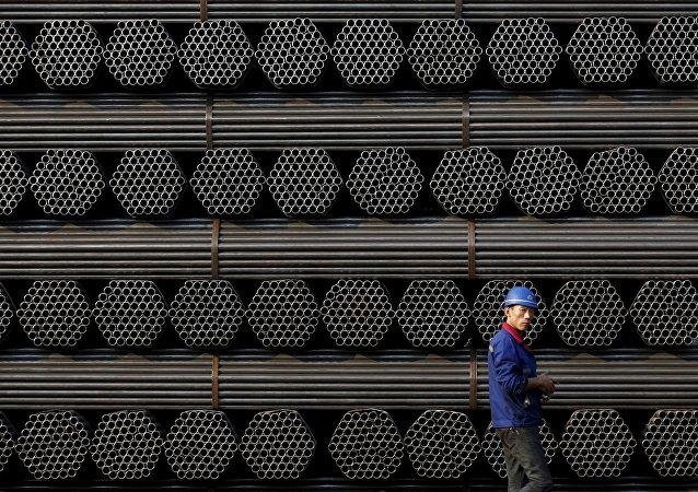 L'acier chinois. Archive photo