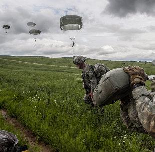 Un exercice militaire