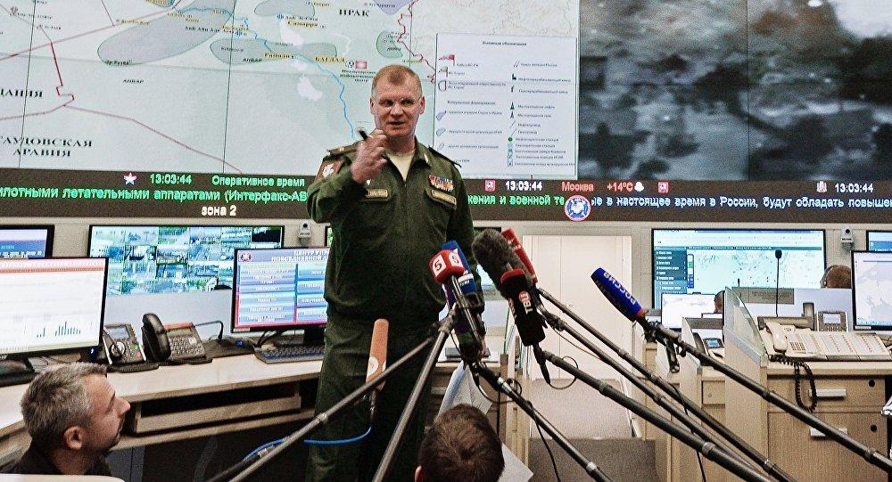 porte-parole du ministère russe de la Défense Konashenkov