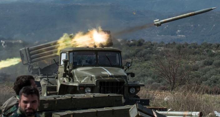 Lance-roquettes multiples Grad de l'armée syrienne