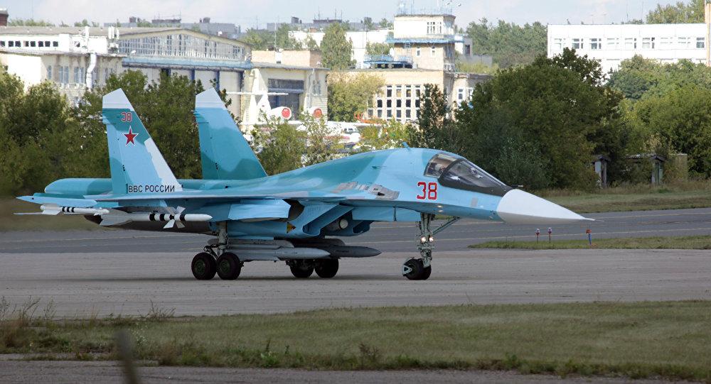 Su-34 à Joukovski, dans la région de Moscou