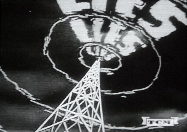 Image tirée d'un film de propagande anticommuniste américain réalisé dans les années 1950