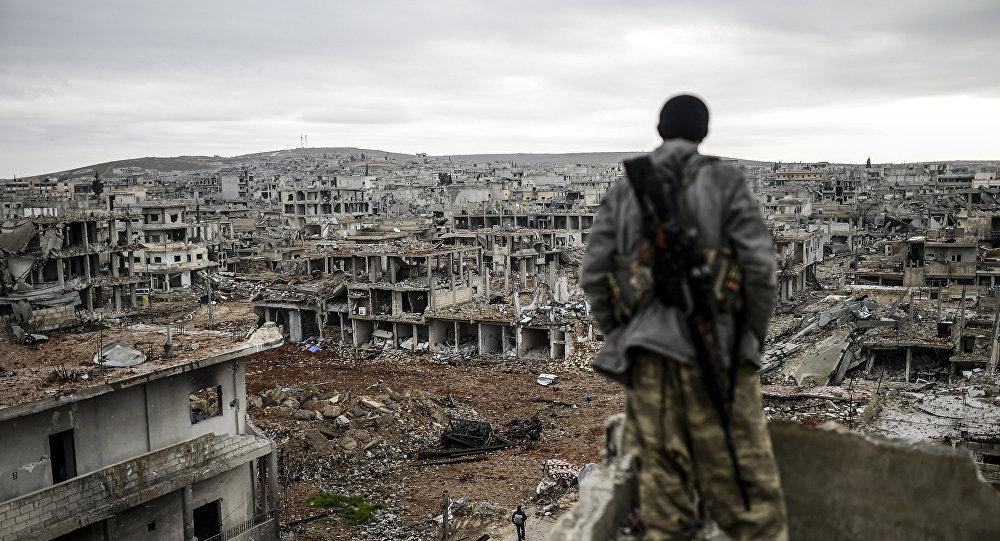 Un Kurde à Kobané