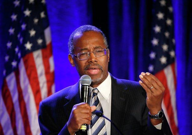 Ben Carson, candidat républicain à la présidence des Etats-Unis