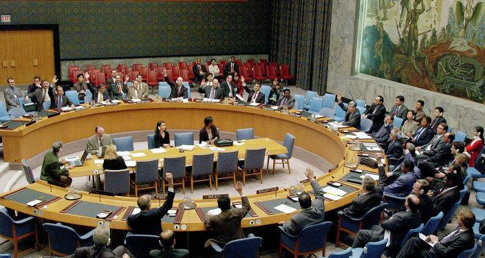 Une session du Conseil de sécurité de l'Onu