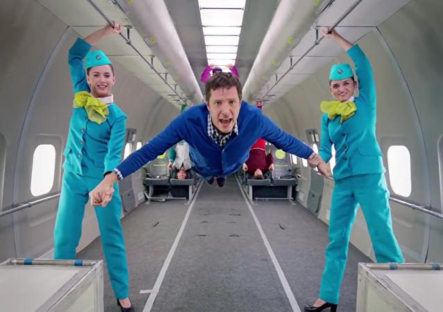 Dans le cadre d'un projet commun, la compagnie aérienne S7 Airlines et le groupe musical d'Indie rock Ok Go ont tourné une vidéo en apesanteur.
