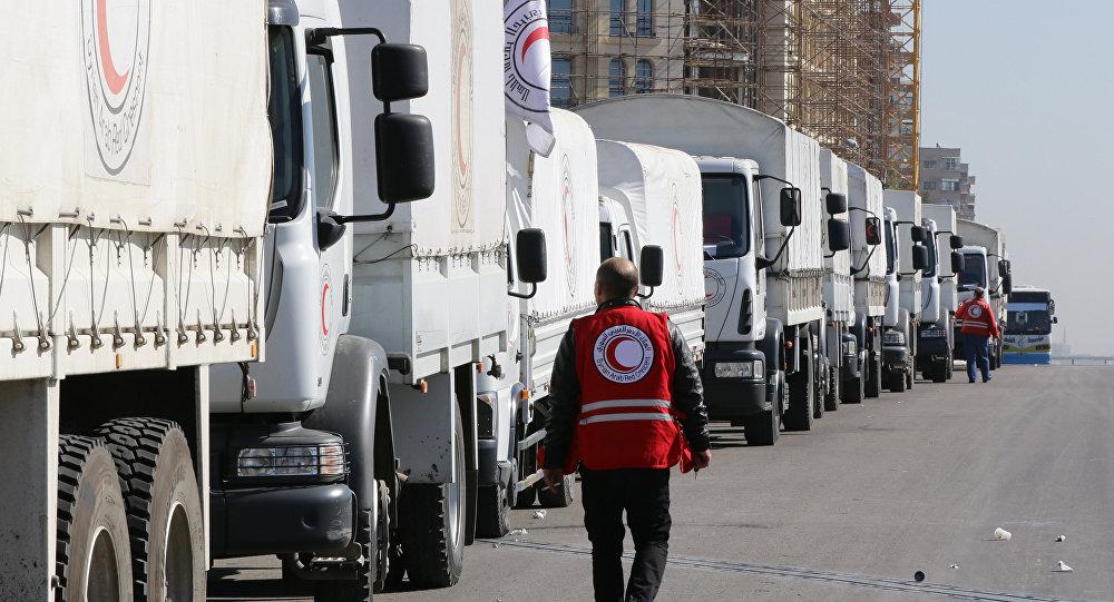 Une opération humanitaire sous l'égide de l'Onu débute en Syrie