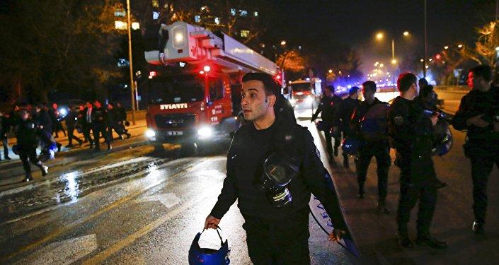 Explosion à Ankara
