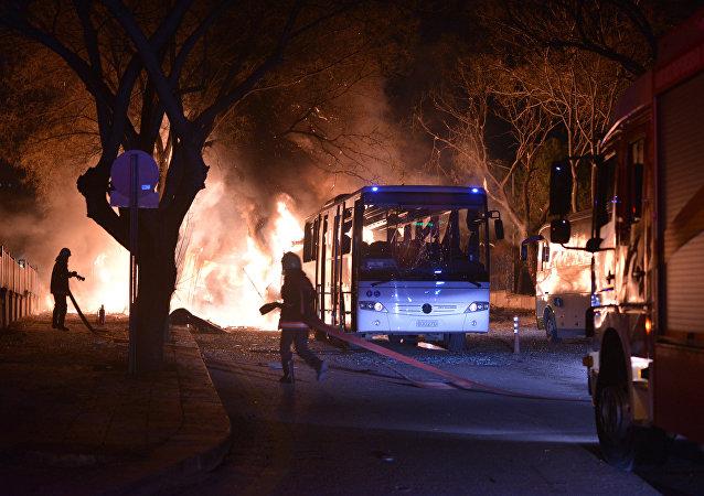 Attaque à Ankara