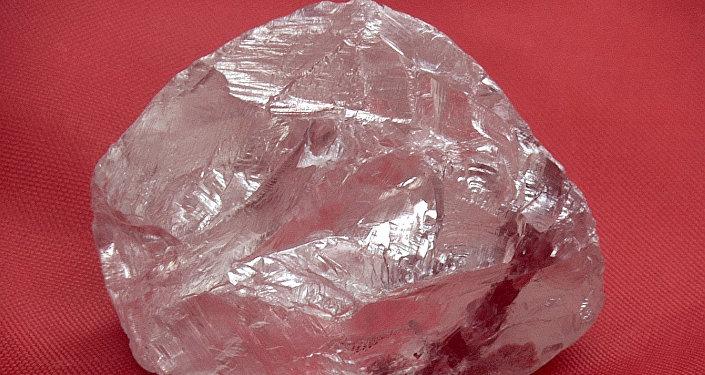 Un diamant. Image d'illustration