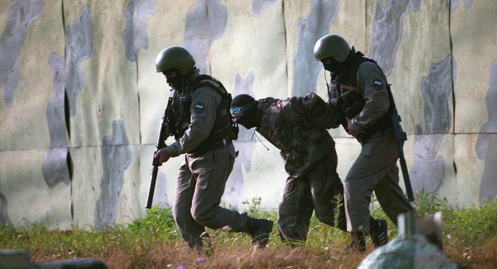 Capture d'un terroriste