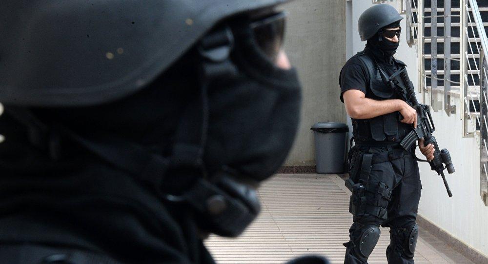 Les forces de sécurité marocaines