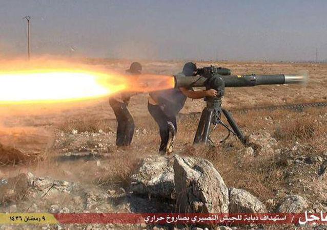 Combats en Syrie