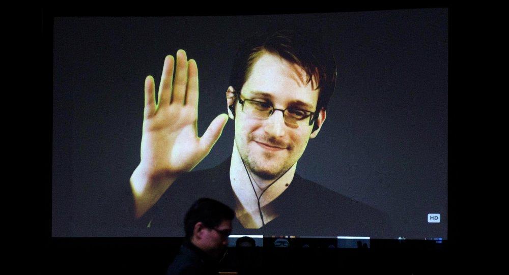 Edward Snowden, ex-consultant de l'Agence nationale de sécurité des Etats-Unis poursuivi pour avoir révélé la surveillance électronique pratiquée par le renseignement americain