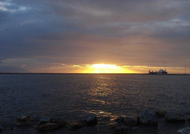 Le port grec d'Alexandroupolis