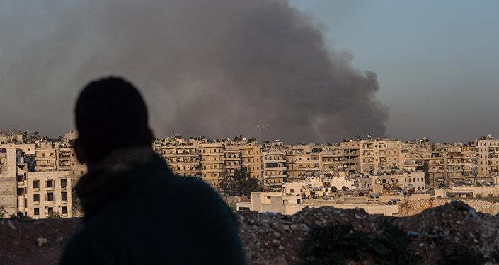 Alep. Syrie