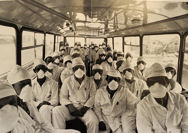 Tchernobyl: des images uniques
