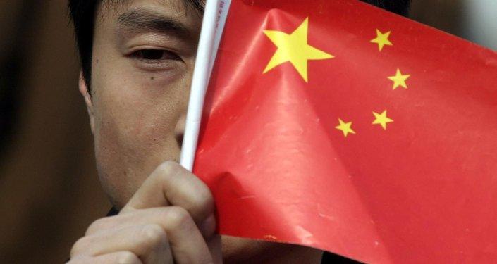 Un drapeau chinois