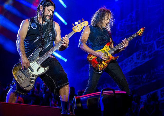 Un concert de Metallica