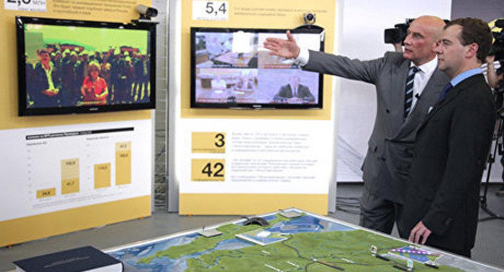 Dmitri Medvedev en « long voyage » a travers l'Extrême-Orient russe