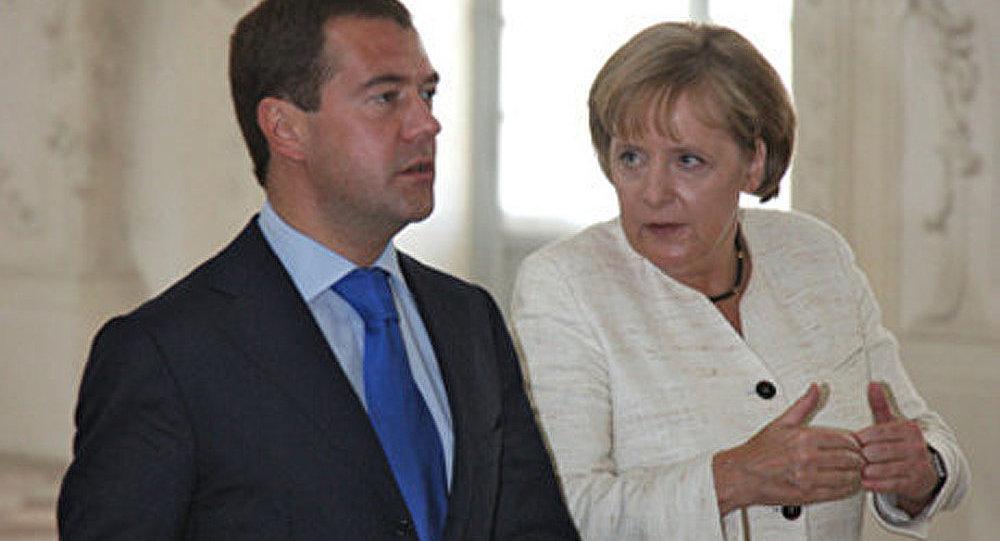 Des consultations interétatiques russo-allemandes