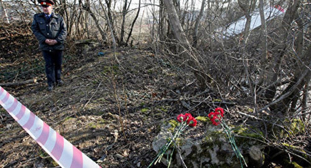 La catastrophe près de Smolensk