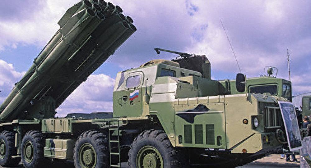 Le lance-roquettes multiple «Smertch»