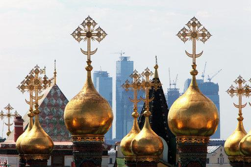 Moscou, capitale de la Russie, est la ville la plus visitée par les touristes étrangers (plus de 70% des personnes qui viennent en Russie).