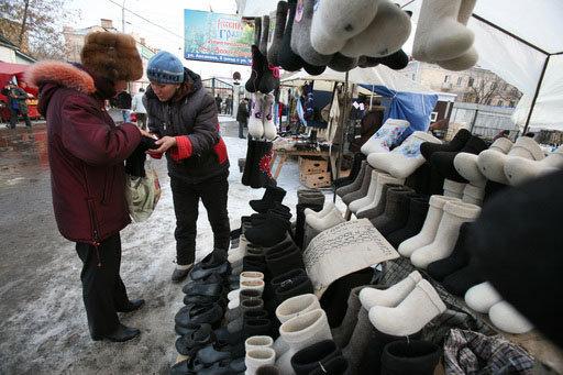 Les bottes de feutre sont apparues en Russie au 18e siècle.
