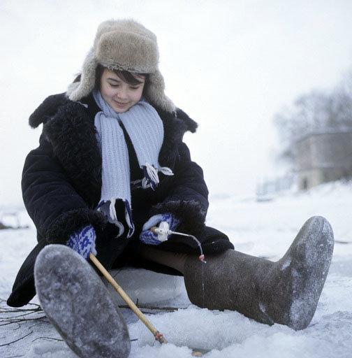 Les campagnards âgés affirment que si l'enfant porte des bottes de feutre jusqu'à l'âge de 10 ans, il ne sera jamais malade de sa vie.