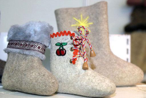 Des musées des bottes de feutre se sont ouverts à Moscou, dans le village Ouroussov (république russe de Mordovie) et à Mychkine (région de Iaroslavl).