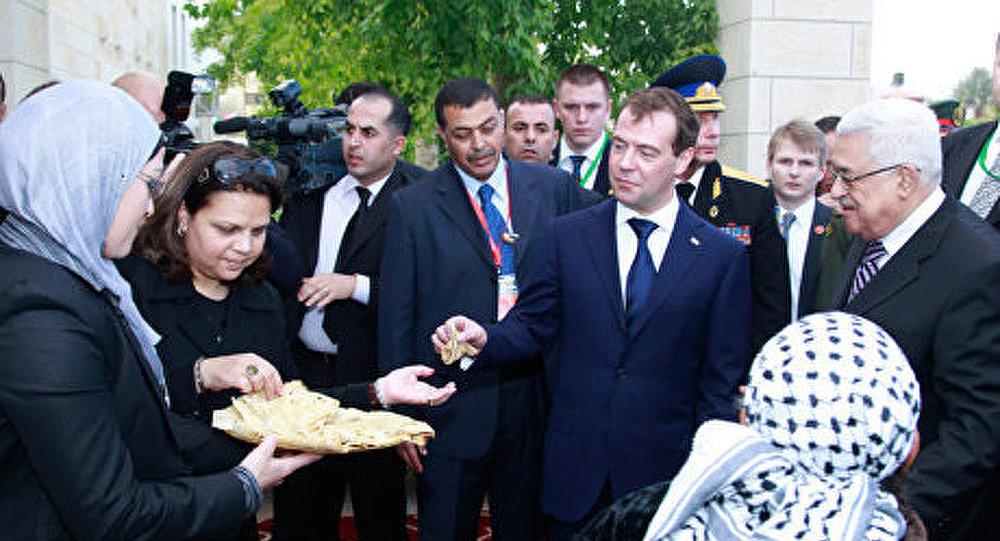 Le président Medvedev est arrivé en Jordanie