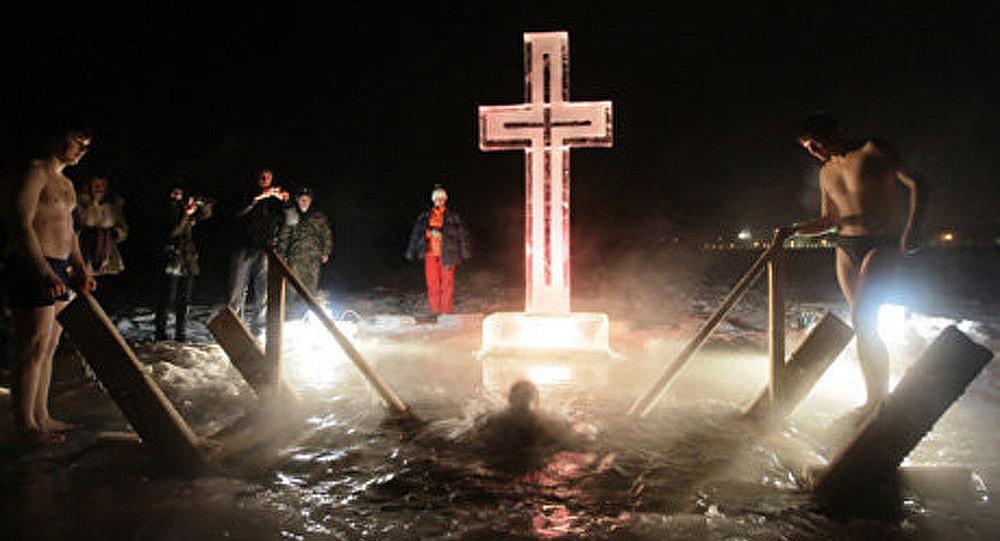 Les orthodoxes fêtent la Théophanie