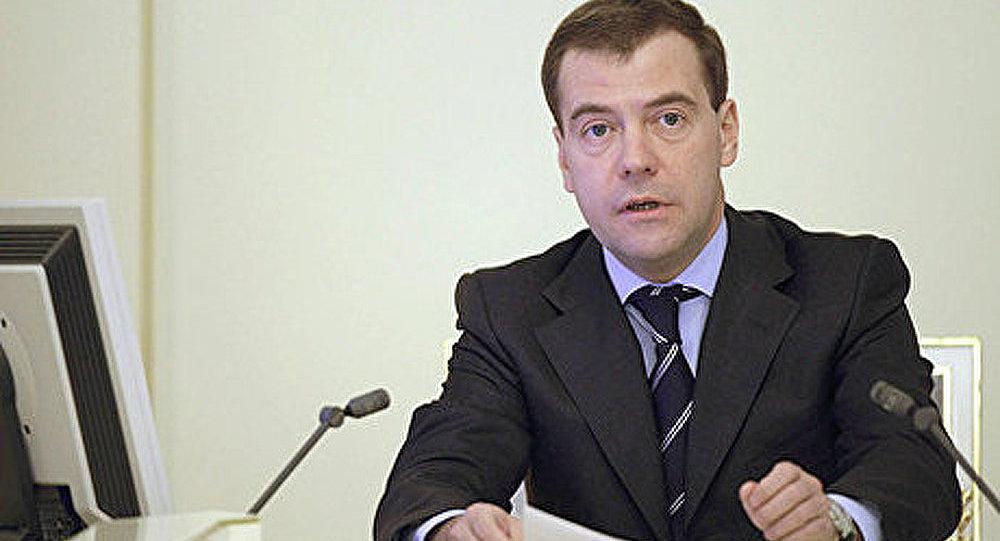 Etat palestinien: des consultations avec Israël obligatoires (Medvedev)