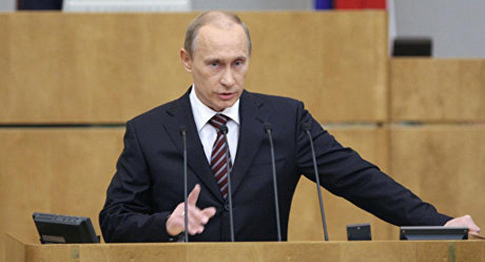 Poutine interviendra à la Douma au début de la troisième décade d'avril
