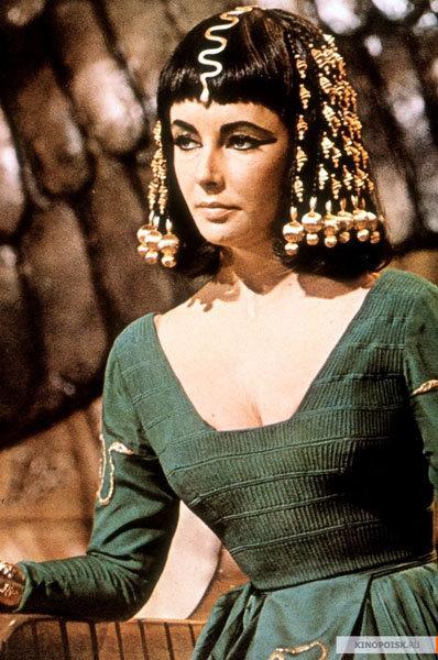 En 1963, grâce à son interprétation de Cléopâtre dans le film éponyme, Elisabeth Taylor devient l'actrice la mieux payée d'Hollywood remportant un cachet d'un million de dollars.