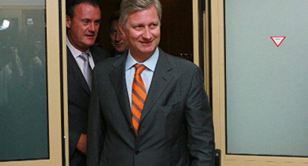 Le président russe rencontrera le prince Philippe de Belgique