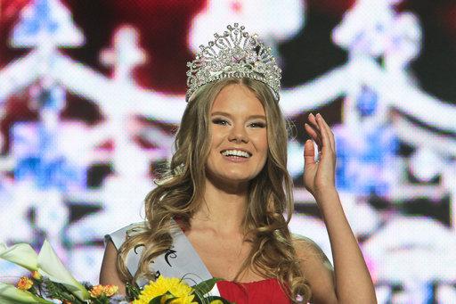 Elena Sendetskaïa, 19 ans, a remporté le concours de beauté Miss Kiev 2011.