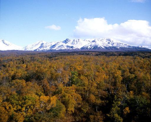 La réserve Kronotski au Kamtchatka.