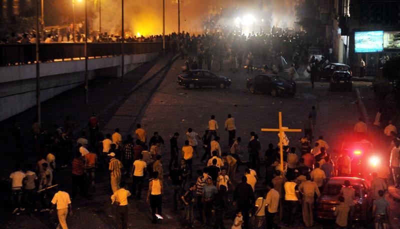 Le Conseil suprême des forces armées (CSFA) au pouvoir a décrété un couvre-feu dans le centre de la capitale.