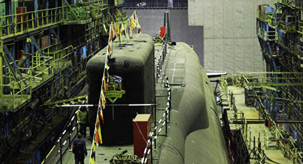 Russie: essais d'un sous-marin «Alexandre Nevski»