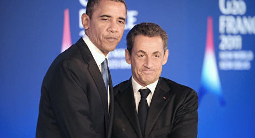 Une conversation entre Obama et Sarkozy très loin du «politiquement correct»