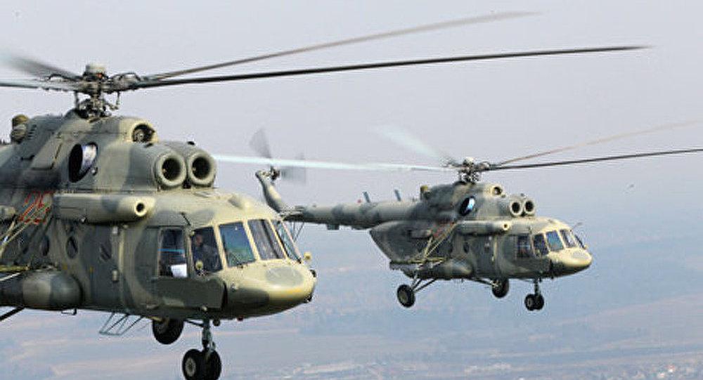 Les hélicoptères Mi-17 sont exportés en Inde