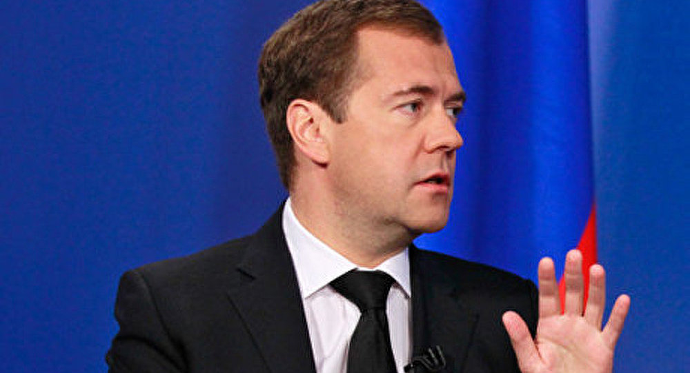 Législatives/Russie Unie: Medvedev sûr de la victoire