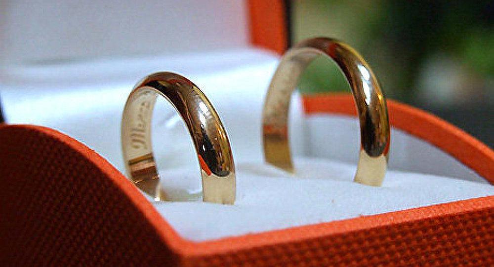 Russie: nombre de mariages a doublé le 11 novembre