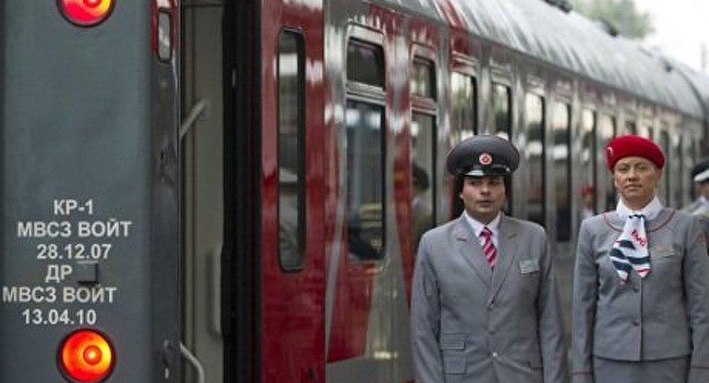 Chemins de fer russes: relier l'Europe à l'Asie