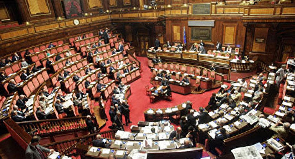 Mesures anticrises adoptés par le sénat italien