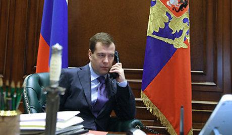 Medvedev remercie Berlusconi pour la coopération